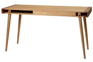 biurko w stylu skandynawskim urzeka przede wszystkim prostotą wykonania oraz surową elegancją
